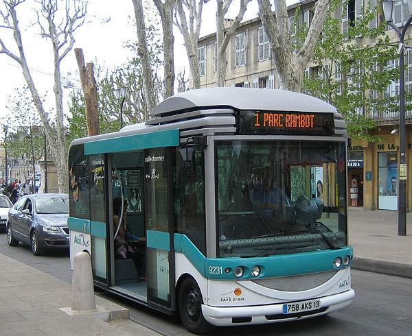 Автобусы в Провансе