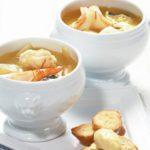 Bouillabaisse, fisk, suppe