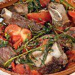 Costine di maiale arrosto di pollo alla provenzale