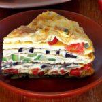 Креспу, закусочный омлет с начинками