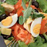 Salada verde-oliva