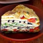 Креспу, закуска бъркани яйца с пълнеж
