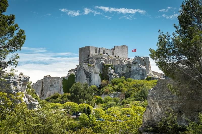 Відпочинок в Провансі з дітьми: Замок Ле-Бо