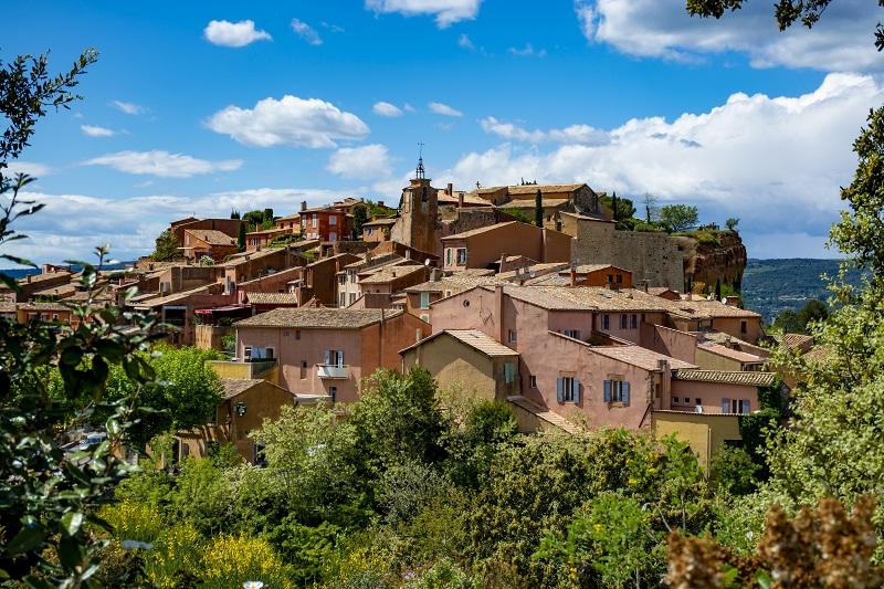 Отдых в Провансе: красивейшая коммуна Руссильон